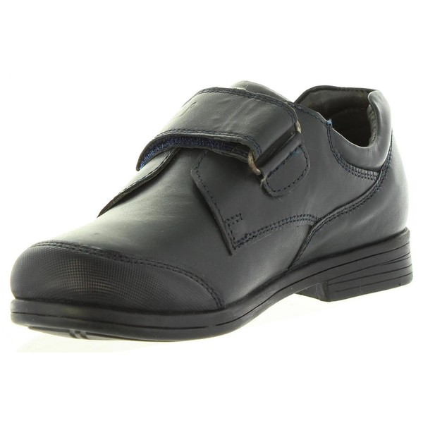 Zapato piel junior - negro