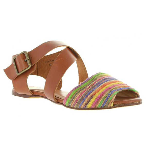 Sandalia mujer - marrón