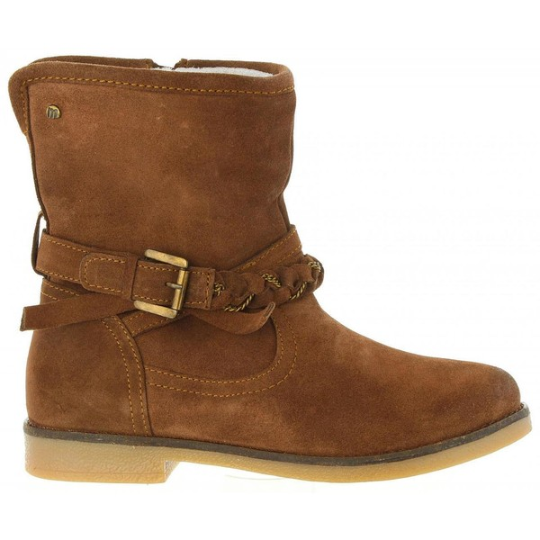 rico y magnífico gran inventario zapatos deportivos Bota mujer piel - marrón