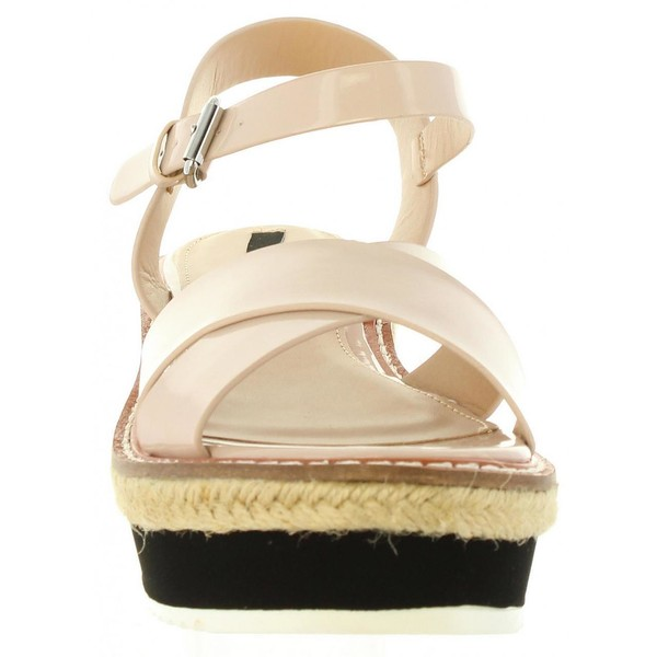 Sandalia plataforma mujer - rosa