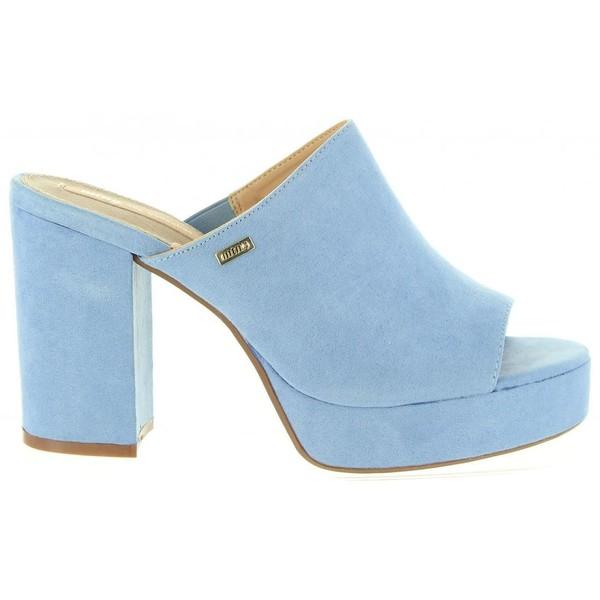 10cm Zapato tacón mujer - azul