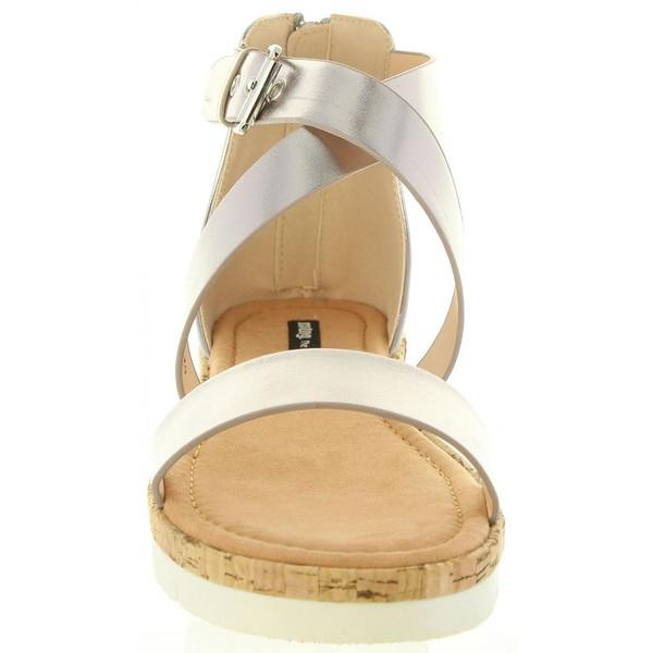 Sandalia mujer - plomo