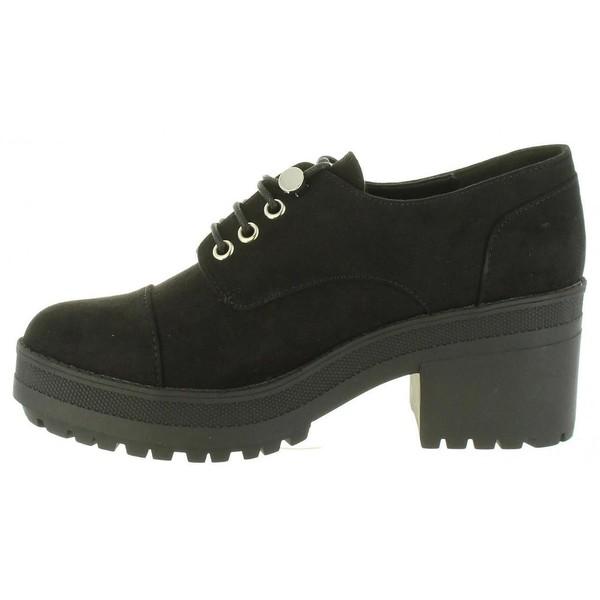 6cm Zapato tacón mujer - negro