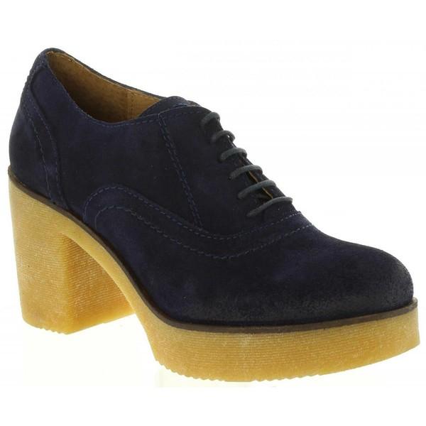 8cm Zapato tacón mujer - marino