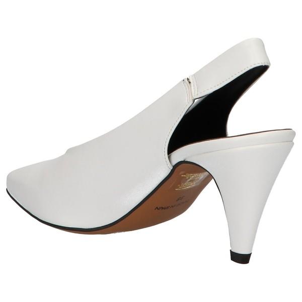 7cm Zapato tacón mujer - blanco