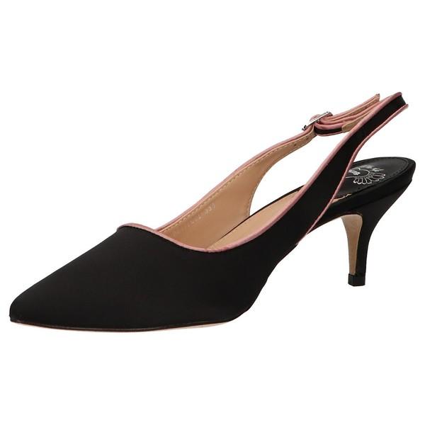 Sandalias tacón mujer - negro