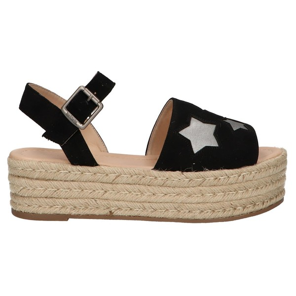 5cm Sandalia plataforma mujer - negro