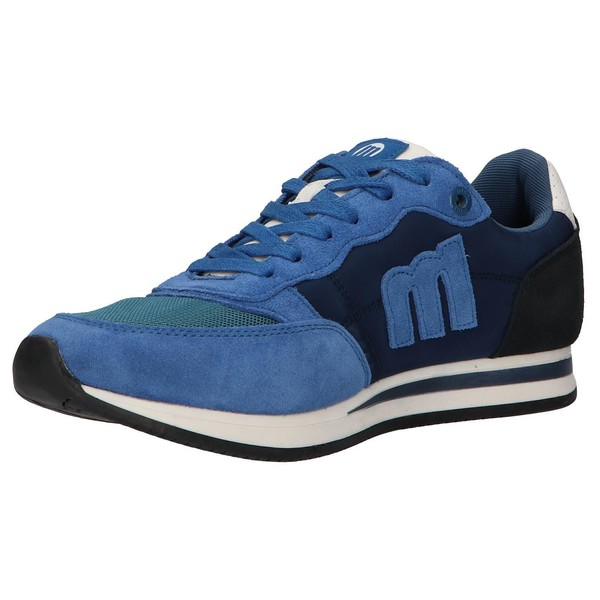 Sneaker hombre azul