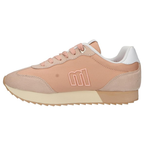 Sneaker plataforma mujer - beige