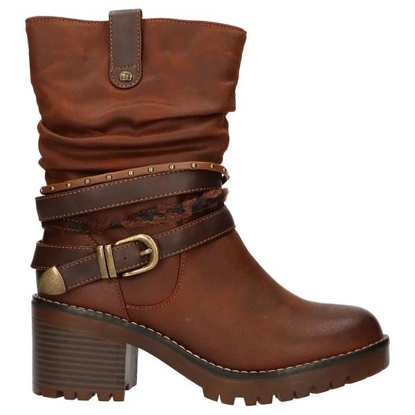 6cm Bota mujer - marrón