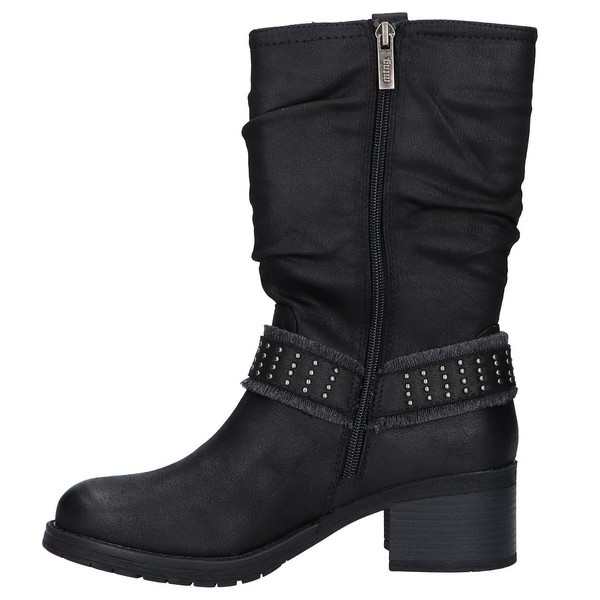5cm Bota tacón mujer - negro