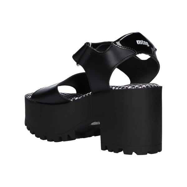9cm Sandalia tacón mujer - negro