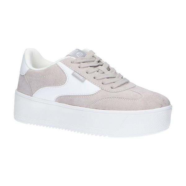 4cm Sneaker plataforma mujer - beige