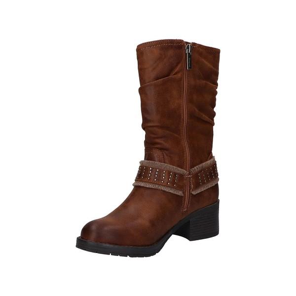 5cm Bota tacón mujer - marrón