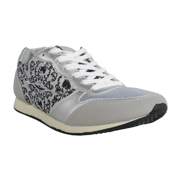 Zapatillas deporte de Mujer BASS3D 41085 COMBINADO PLATA Talla 37 u9TySO4n5