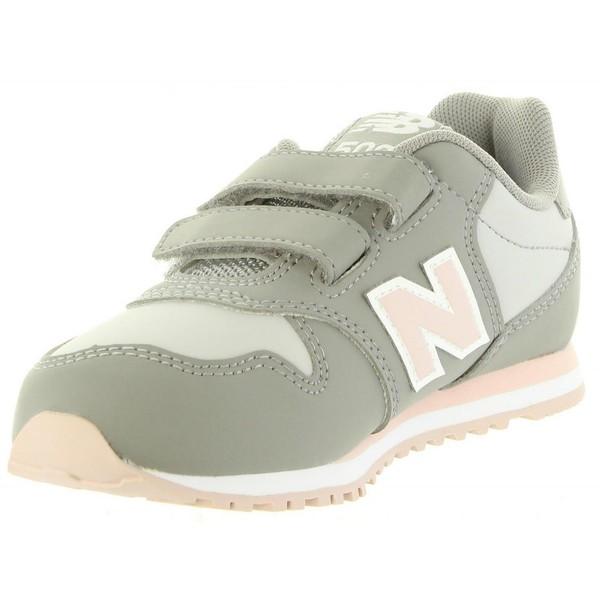 Sneaker infantil - gris/rosa