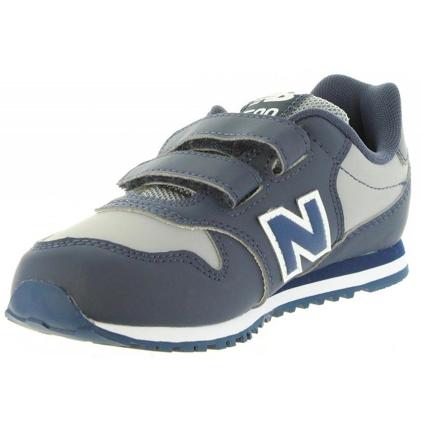Sneaker junior - marino/gris