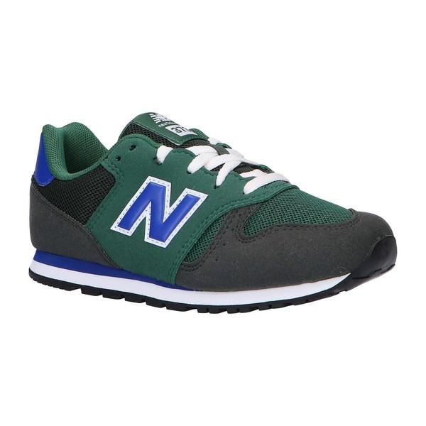 Sneaker infantil piel junior - verde