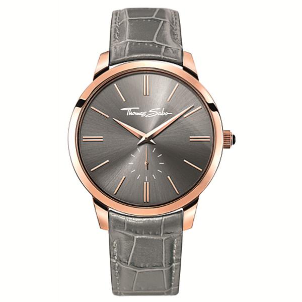 Reloj analógico unisex acero - gris