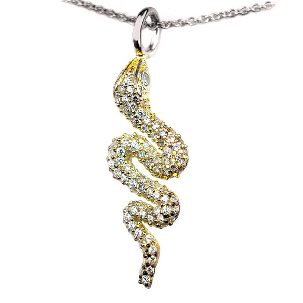 Colgante plata mujer - dorado