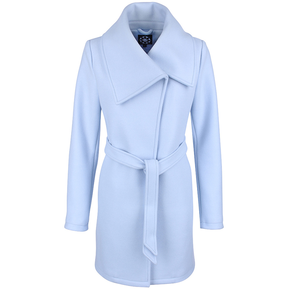 Abrigo - azul claro