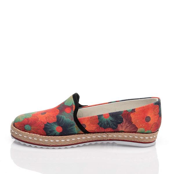 Sneaker slip on mujer - multicolor