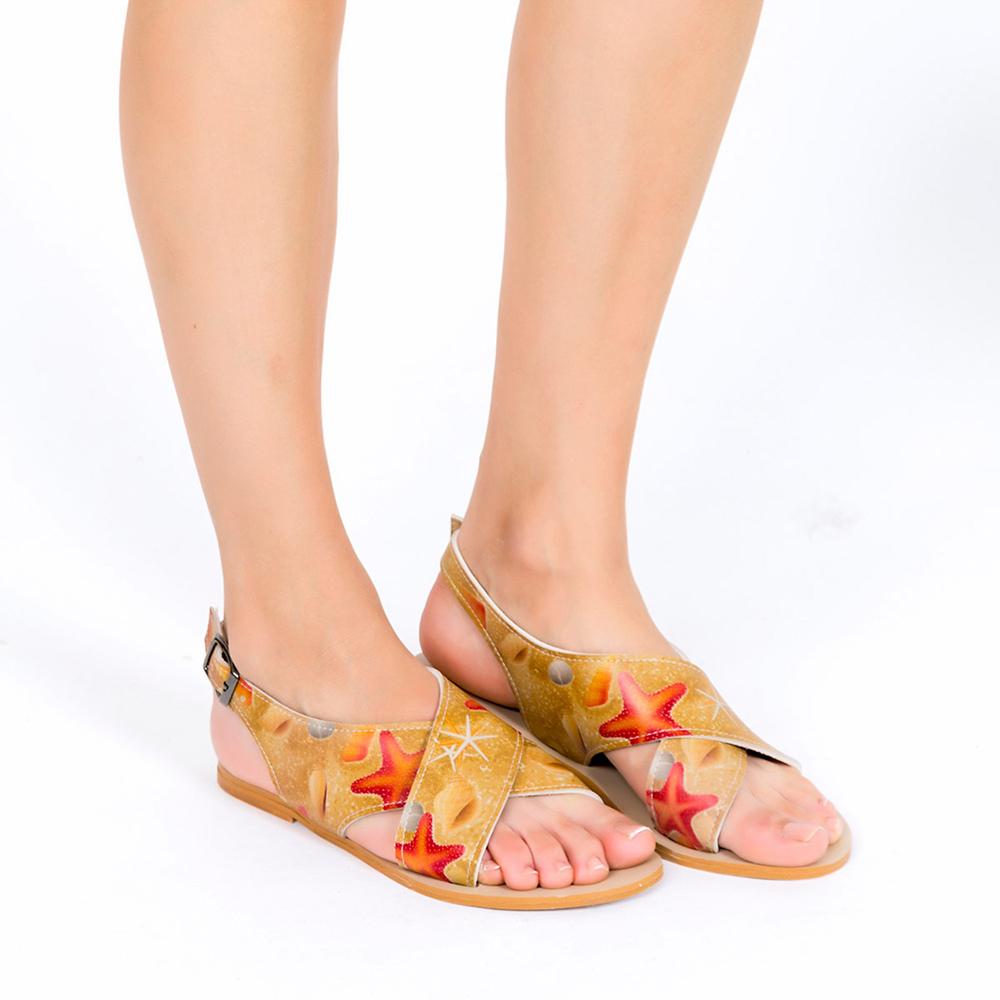 Sandalia mujer - multicolor