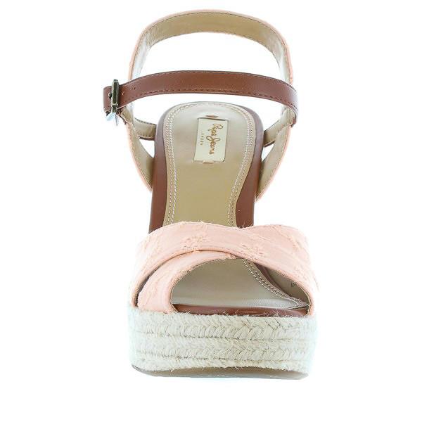 12cm Sandalia cuña mujer - rosado