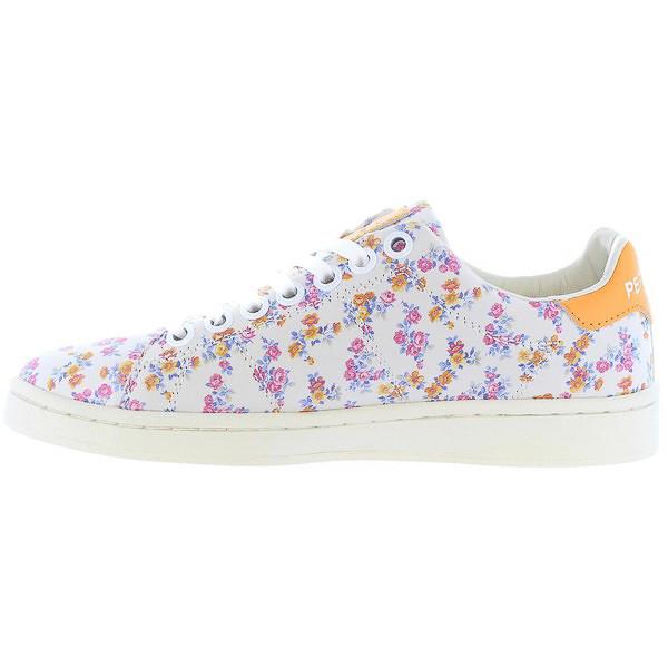Sneaker piel mujer - multicolor