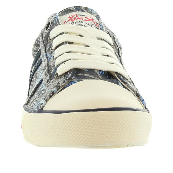 Sneaker piel junior - gris