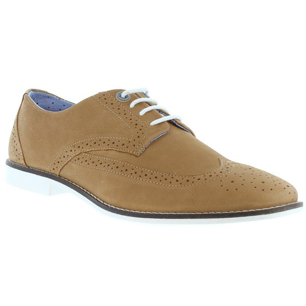 Zapato piel hombre - marrón