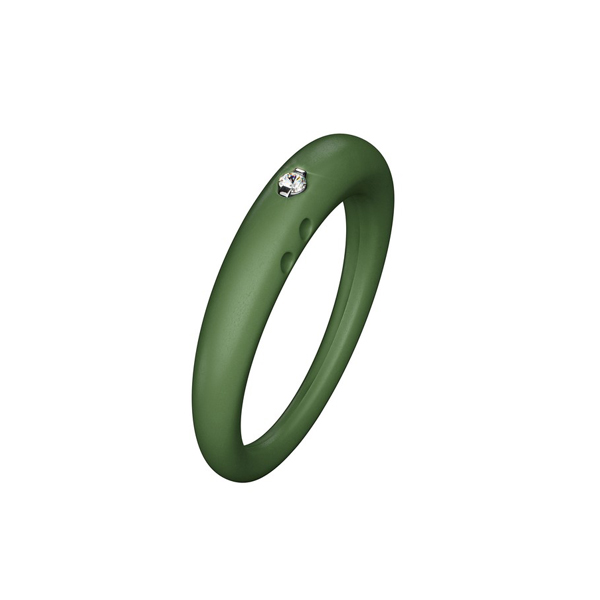 Anillo mujer t.S - verde