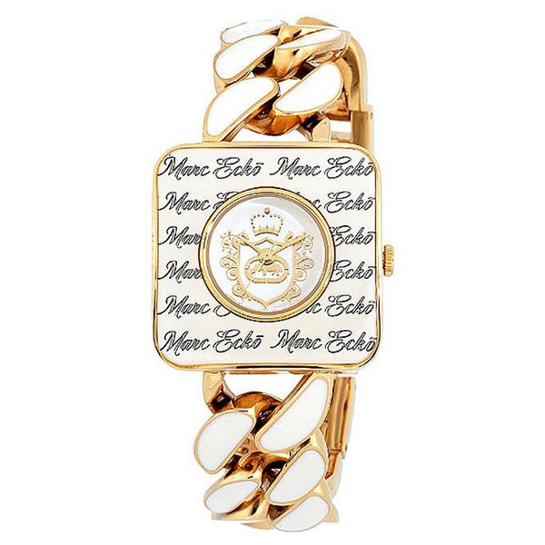 Reloj analógico metal mujer - dorado