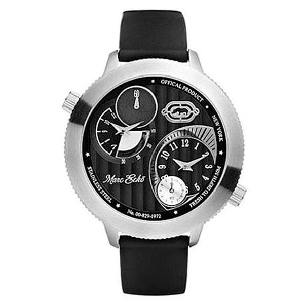 Reloj analógico hombre - negro