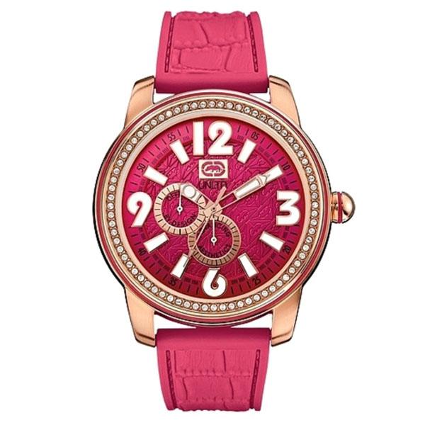 Reloj analógico unisex - rojo