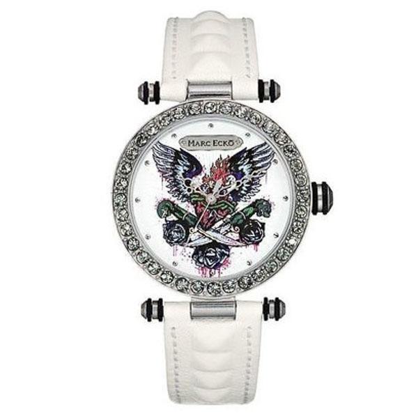 Reloj analógico hombre - blanco