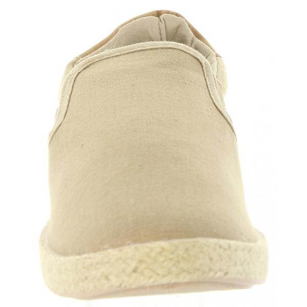 Zapato slip-on junior - beige