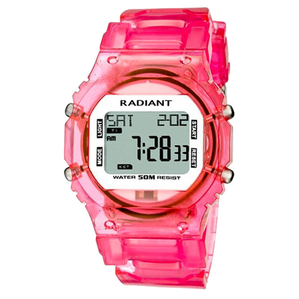 Reloj mujer digital - rosa