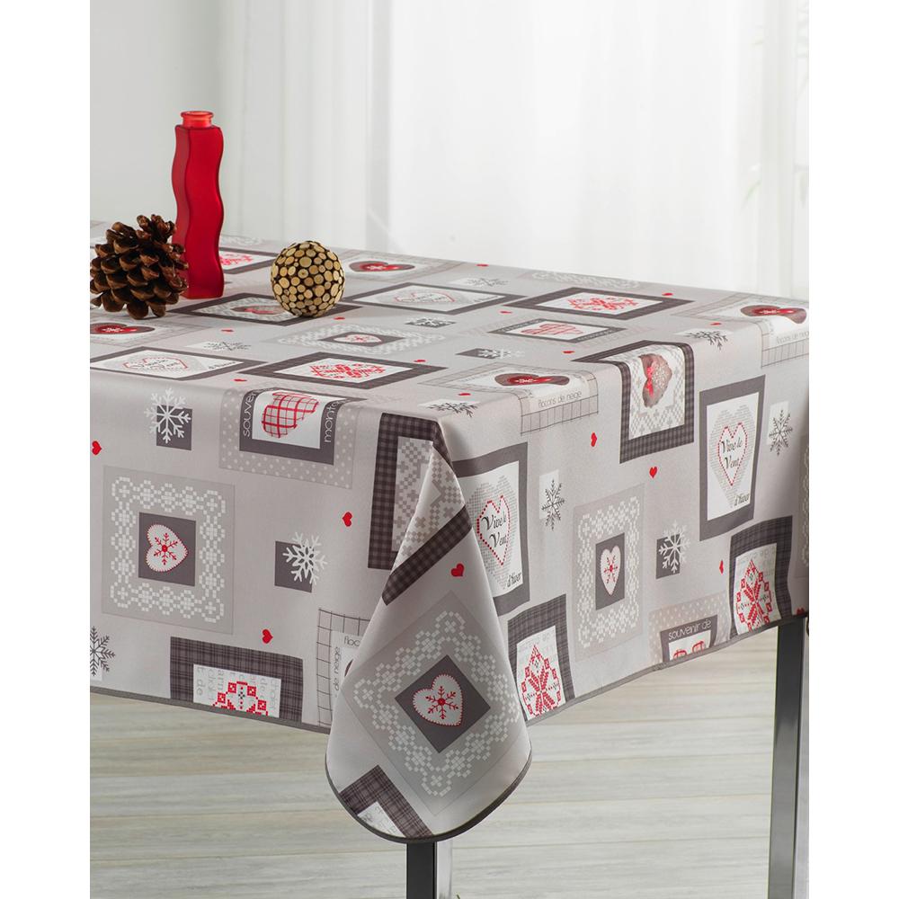 Mantel grey love in christmas