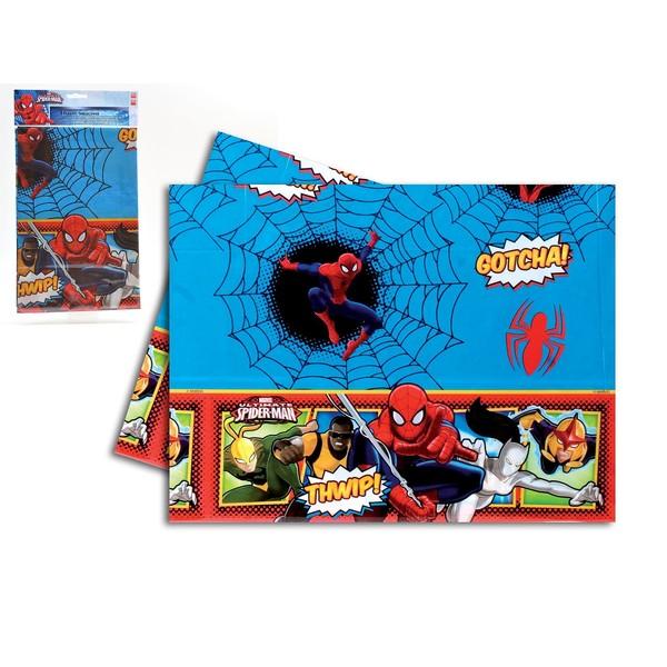 Mantel mesa plástico spiderman 120x180cm