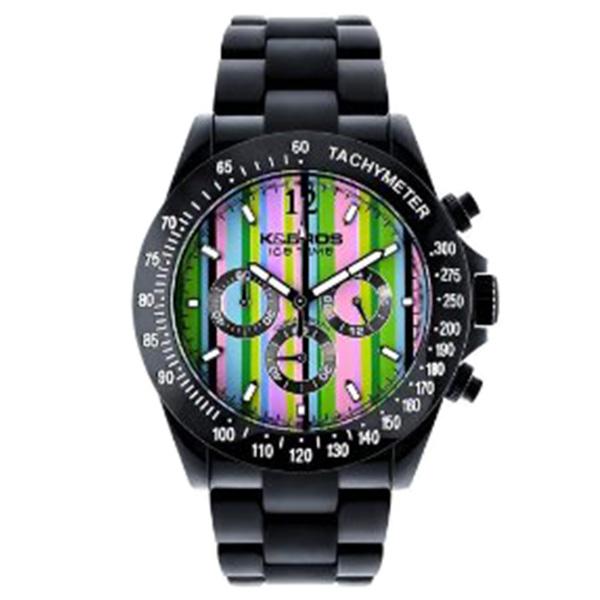 Reloj analógico mujer poliuretano - negro