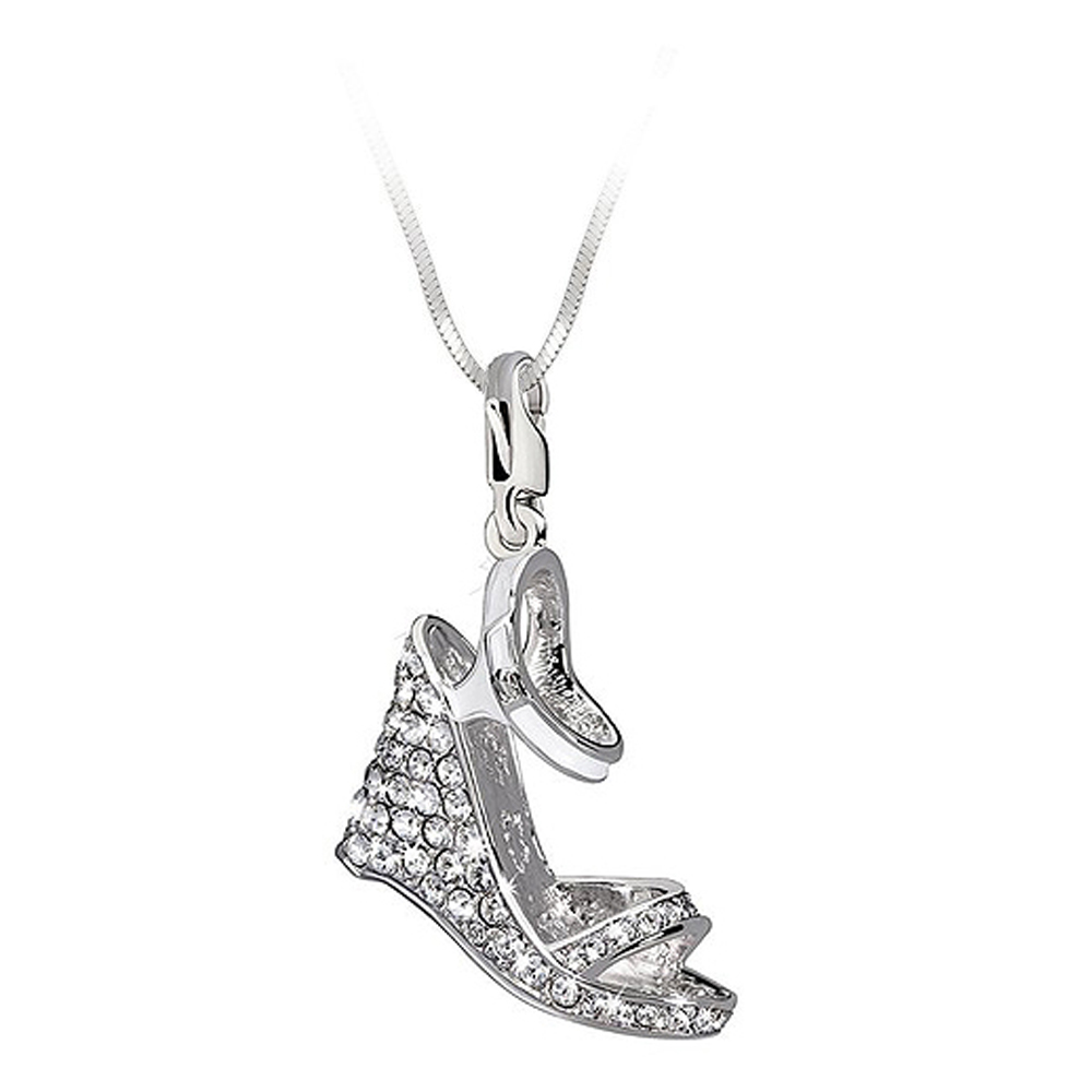 Abalorio plata mujer - Swarovski