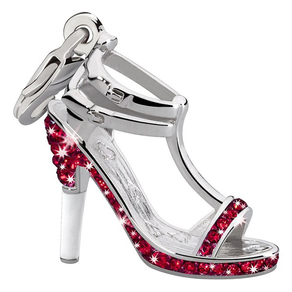 Charm zapato - rojo
