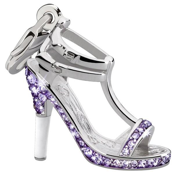 Charm zapato - morado