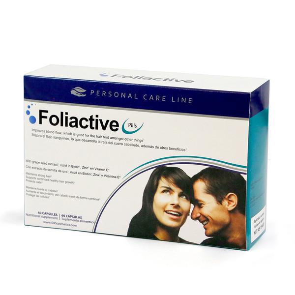 Cápsulas anticaida Foliactive pills 60 cáp