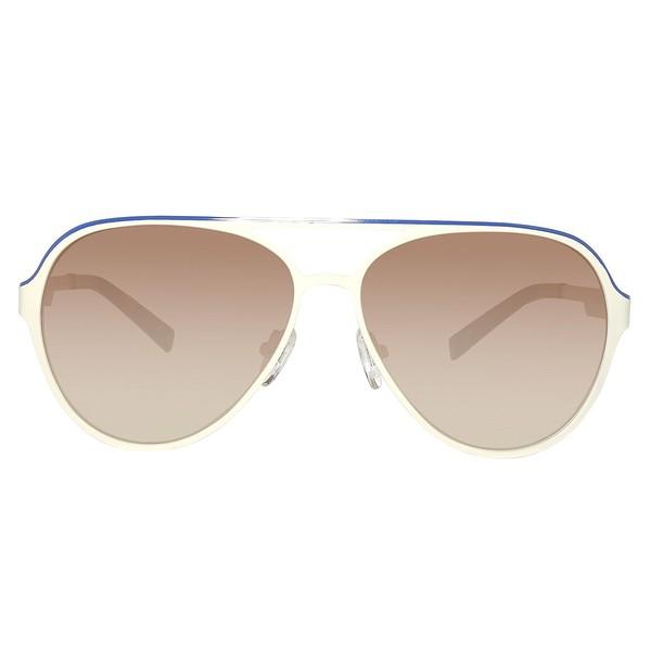 Gafas de sol metal hombre - crema