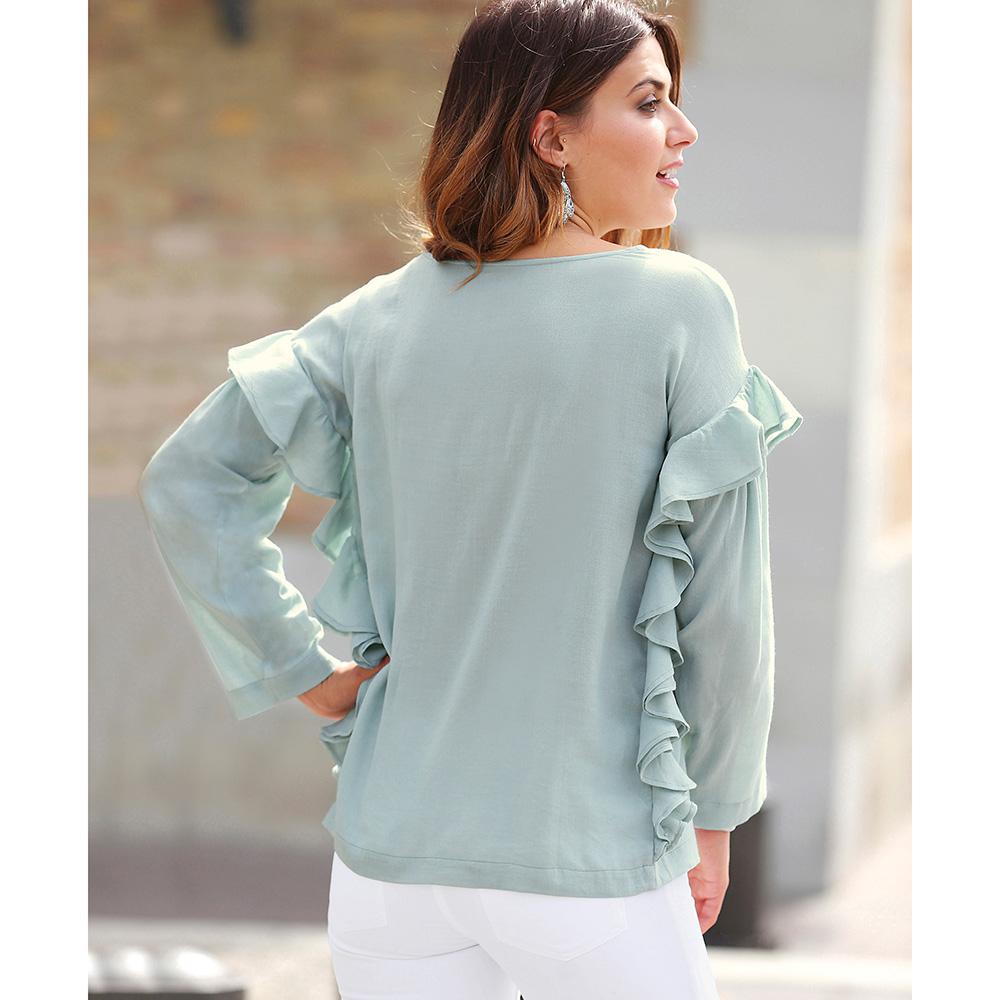 Blusa mujer - verde