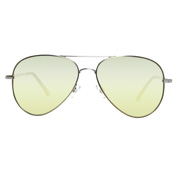 Gafas de sol unisex calibre 58 metal - gris