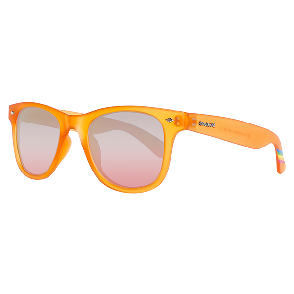 Gafas de sol unisex cal.48 policarbonato - naranja