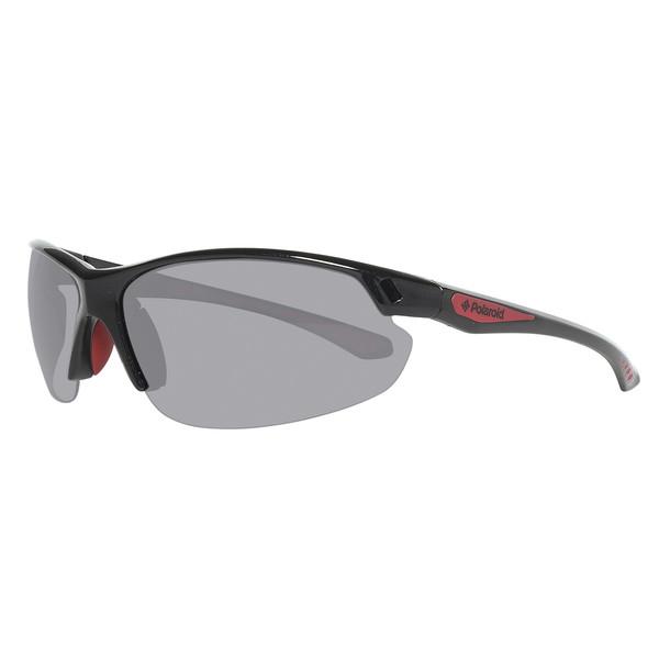 Gafas de sol unisex cal.70 inyectado - negro